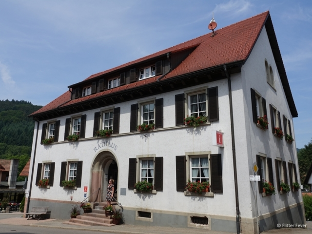 Rathaus (town hall) of Seebach, Black Forest
