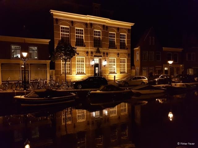 Verdronkenoord by night Alkmaar