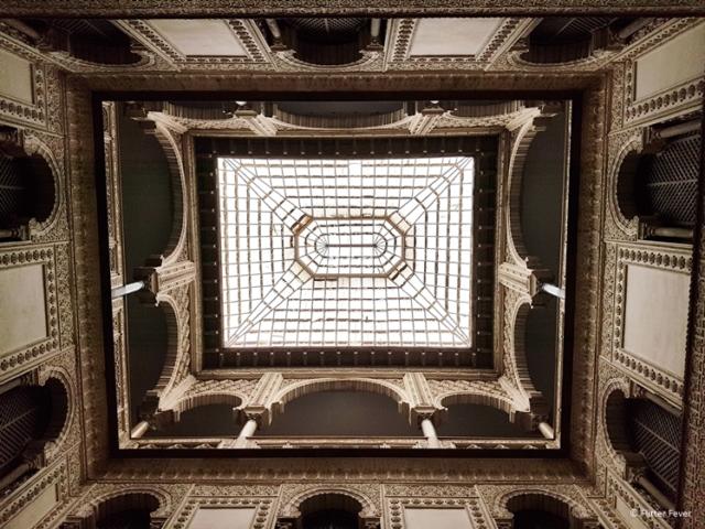 Ceiling at Real Alcazar Seville