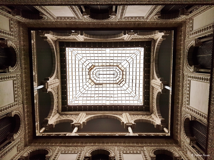 Ceiling at Real Alcazar Seville