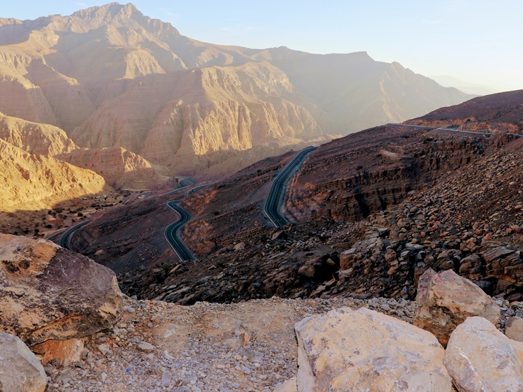 Mountains near Dubai