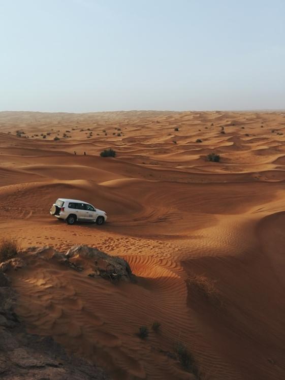 Jeep Safari at Arabiab Desert Dubai