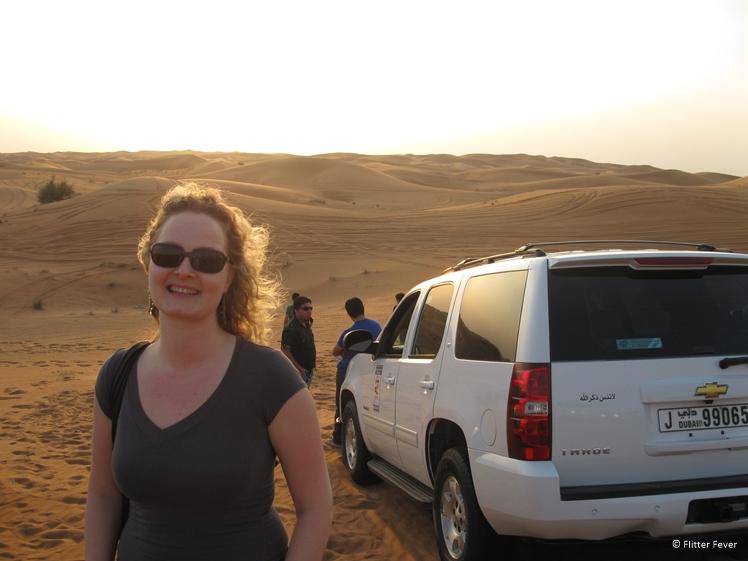 Jeep safari in Dubai Desert