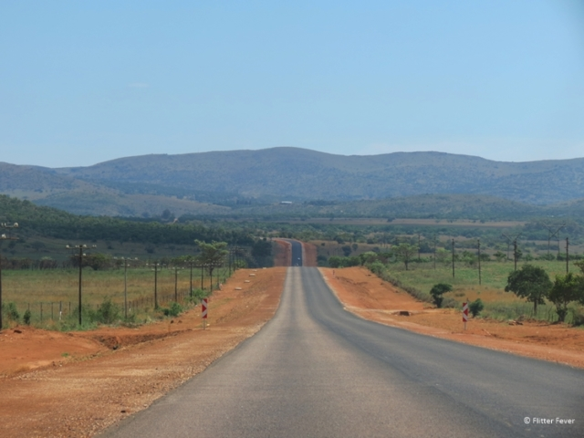 On the road from Johannesburg to Waterberg