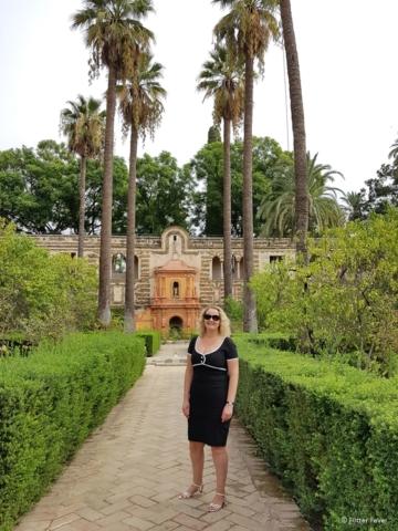 Real Alcazar garden