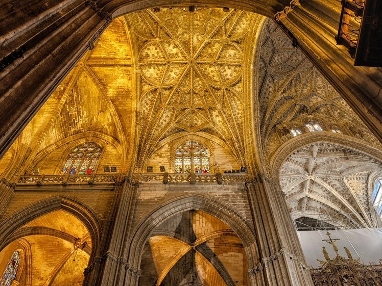 Seville Cathedral inside