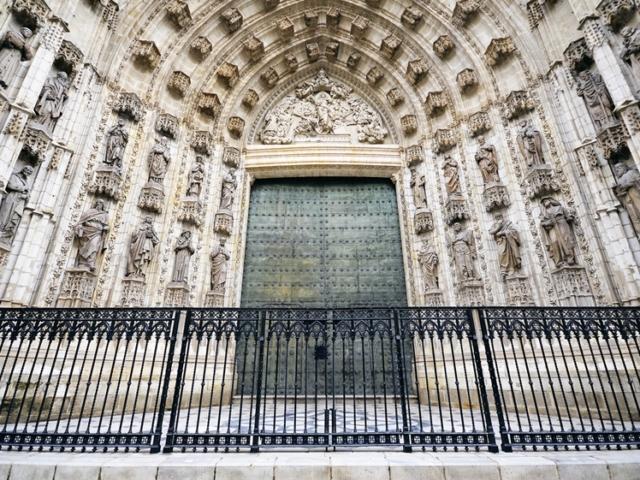 Seville Cathedral side door