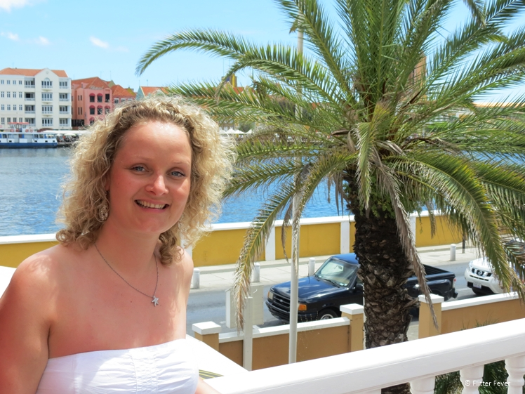 Shining in Willemstad Curacao