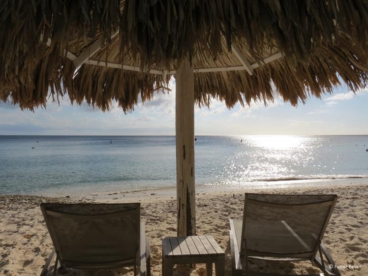 Westpunt Curacao beach parasol