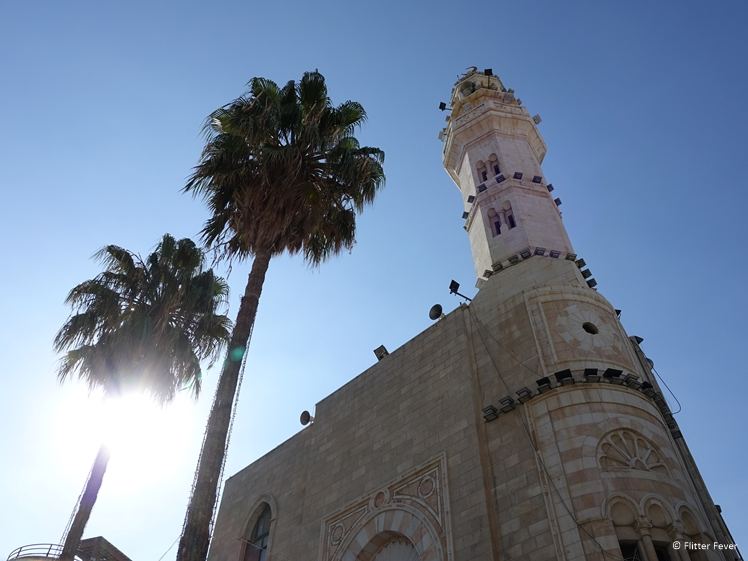 Mosque at Manger Square in Bethlehem