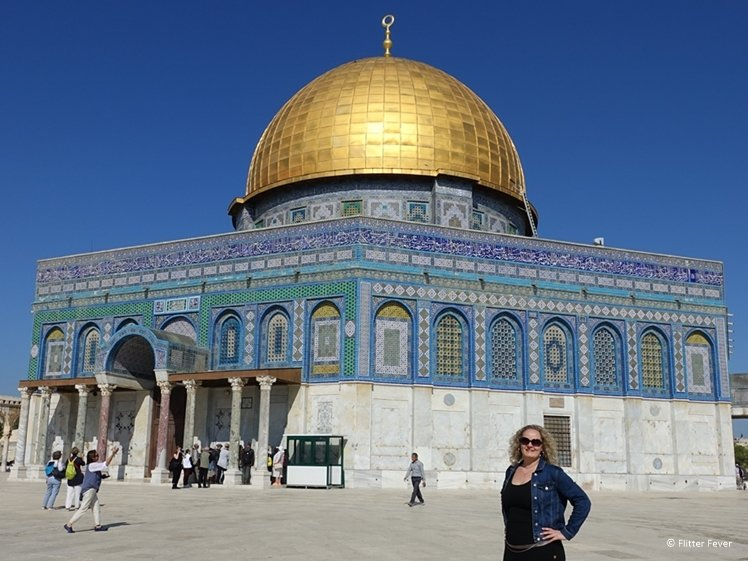 Dome of the Rock is a sightseeing highlight of Jerusalem