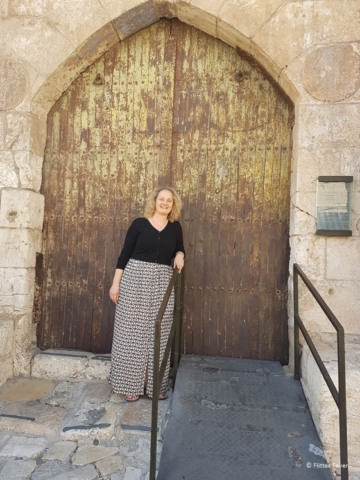 Tower of David closed for Shabbat Friday afternoon Jerusalem