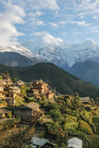 Nepal mountain village bucketlist