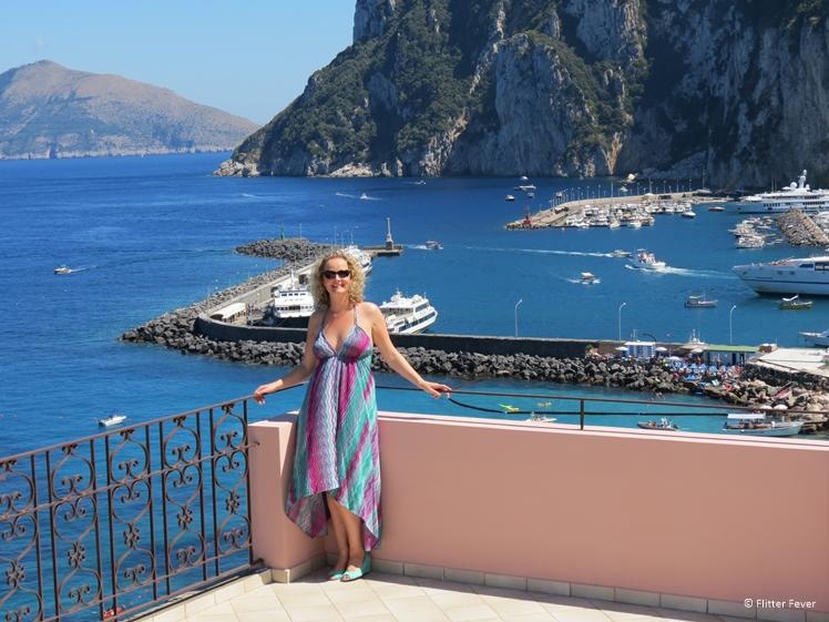 Capri near Naples