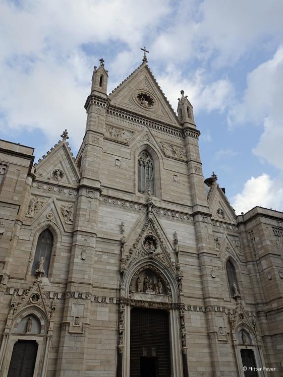 Duomo di Napoli Naples Cathedral front