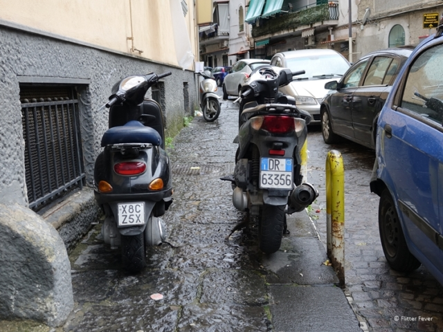 Parked scooters on sidealk are a nightmare for wheelchair users