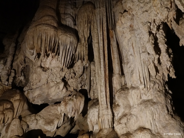 Formations in Lod Cave
