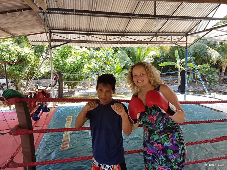 Muay Thai Boxing Class at Bang Kachao island