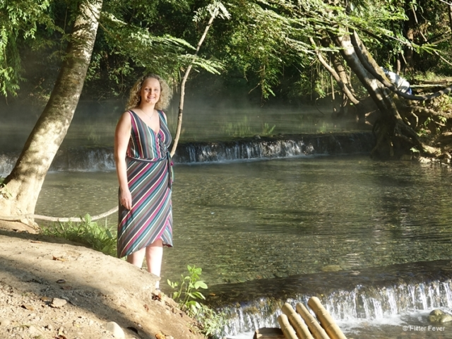 One more shot at Sai Ngam hot spring near Pai