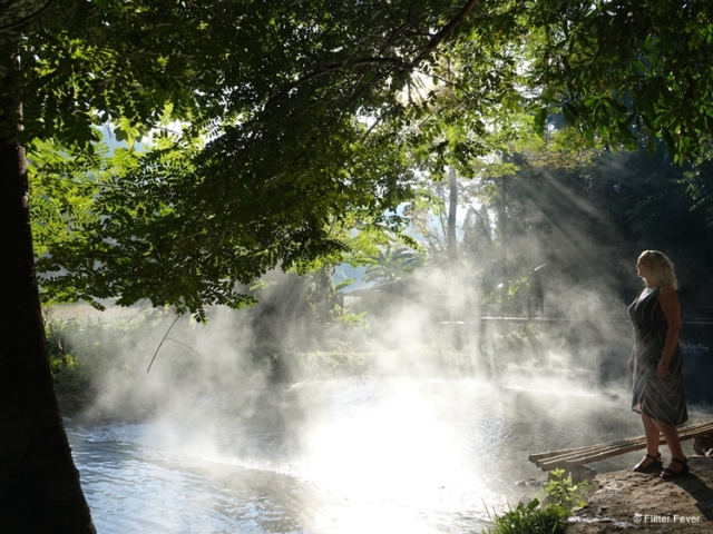 Sai Ngam hot spring Pai early morning