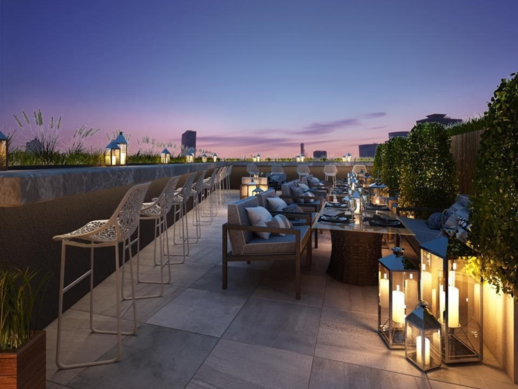 Villa De Khaosan by Chillax bar restaurant with a view Bangkok