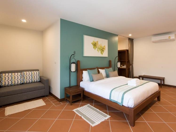 Villa Sanpakoi Chiang Mai room Thailand