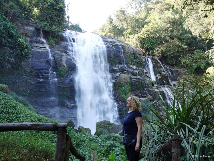 Wachiratan Waterfall Doi Inthanon National Park
