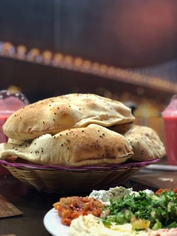 Baked bread in Riyadh