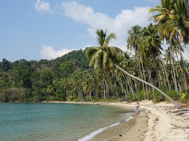 Boat trips can take you to deserted islands in Thailand Koh Chang
