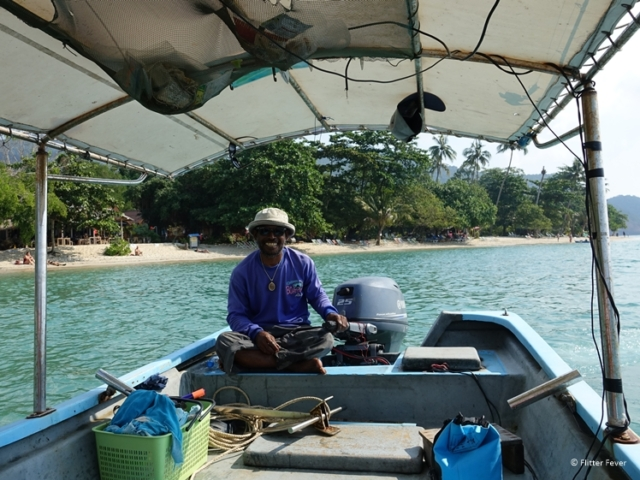 Private boat trip from Koh Chang Thailand