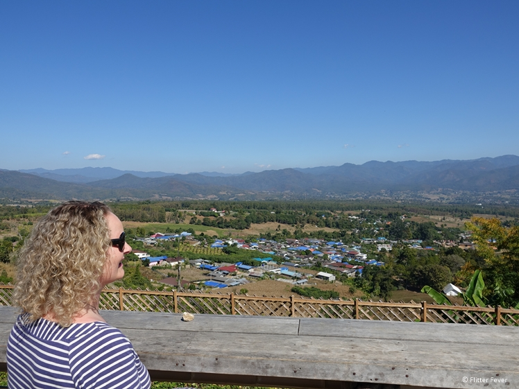 Me at the Yun Lai viewpoint in the afternoon Pai