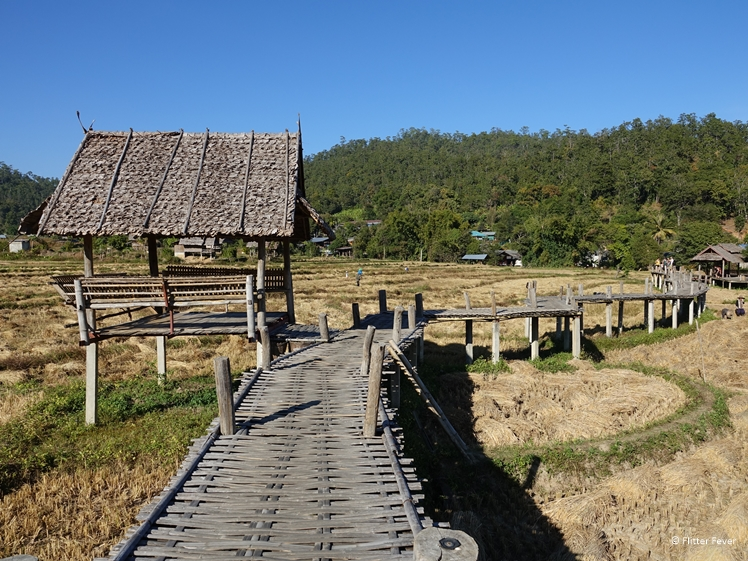 Pai Boon Ko Ku So Bamboo Bridge