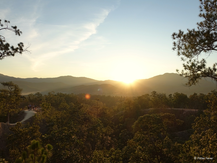 Pai Canyon sunset