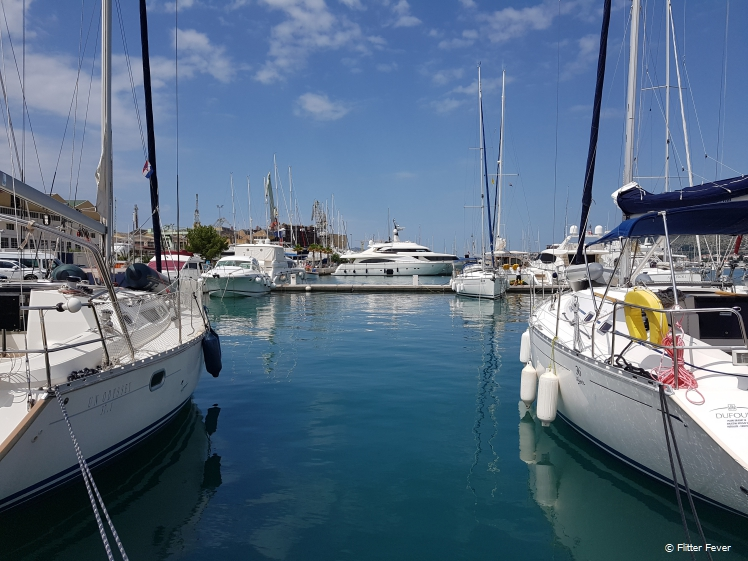 Trogir Marina is full of nice ships, luxury yachts and small boats