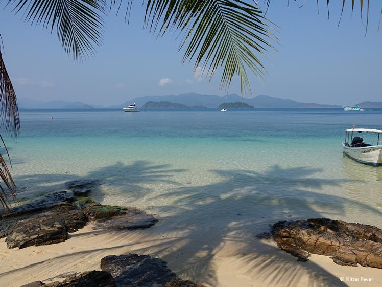 Koh Wai sea view island near Koh Chang