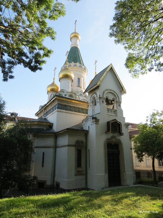 Russian Church Sveti Nikolay Mirlikiiski in Sofia