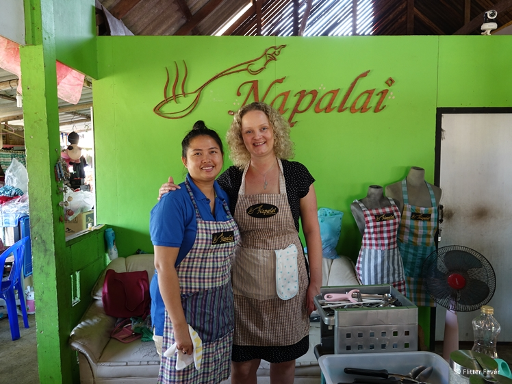 Thai Cooking Class in Koh Chang at Napalai with chef teacher Bunny
