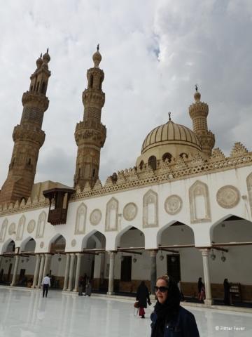 Al-Azhar Mosque Cairo me
