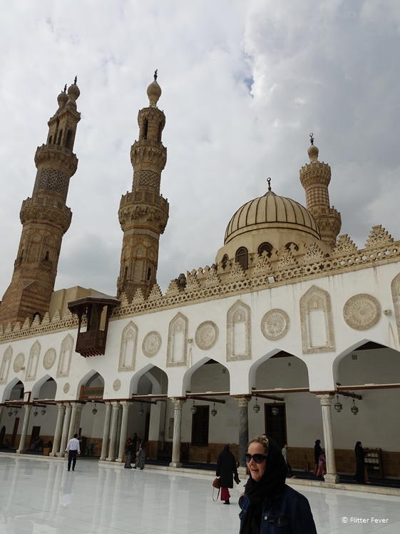Visiting the Al-Azhar Mosque in Cairo