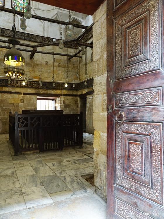 Madrasa or mausoleum of sultan in Historic Cairo