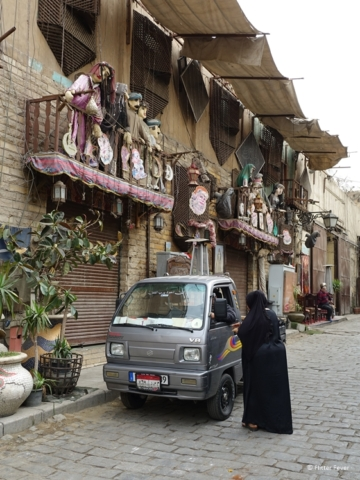 This street in Hiostoric Cairo reminds me a bit of La Boca in Buenos Aires