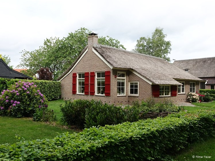 Cute farm house in Eext Drenthe Netherlands