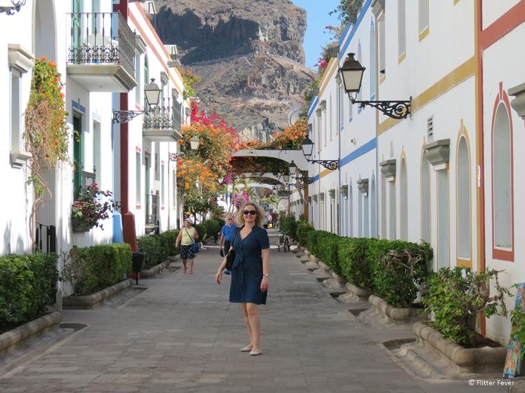 Puerto de Mogan Gran Canaria cute street