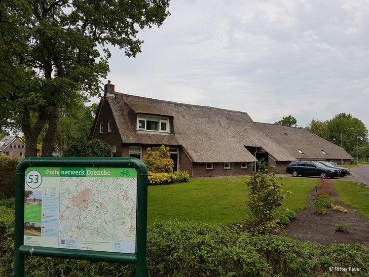 Fietsnetwerk Drenthe fietsknooppunt 53