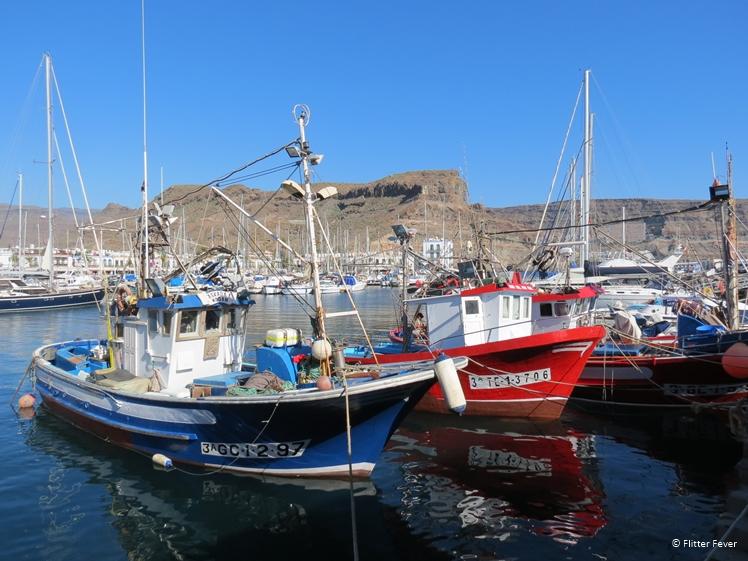 Fishermen's boats in Puerto de Mogan