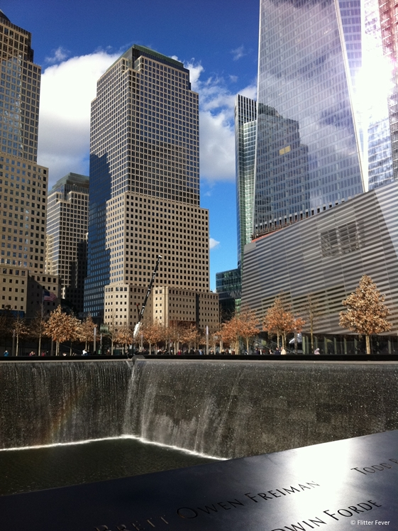 Ground Zero 911 Memorial New York City