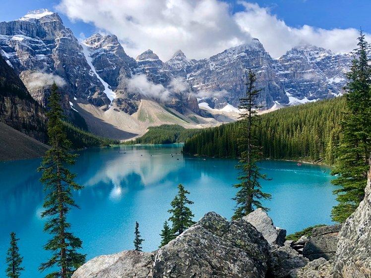 Lake Moraine Banff NP Canada
