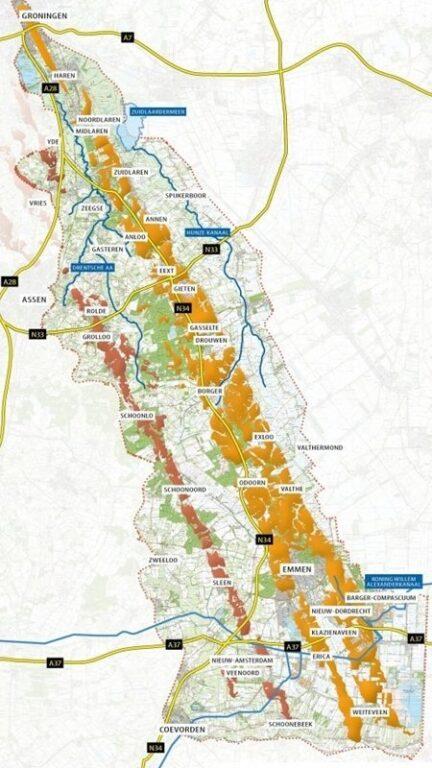 Map De Hondsrug