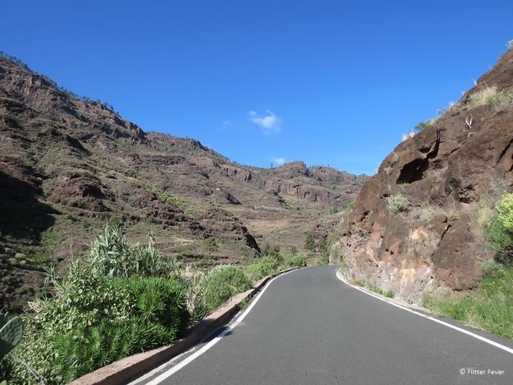 Road trip through the mountains of central Gran Canaria