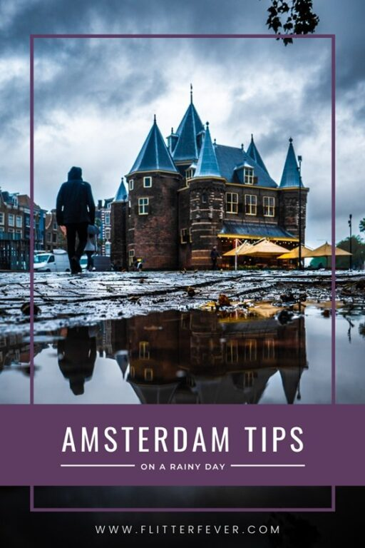 Amsterdam tips on a rainy day Pinterest post
